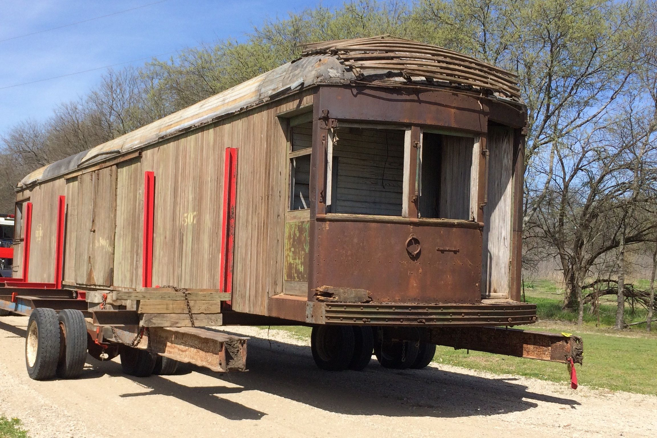Interurban Freight Car Restoration